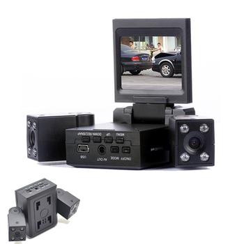 《魔鷹》變形金剛 雙鏡頭行車記錄器(黑)