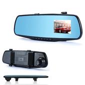 《魔鷹》FULL HD 2.7吋螢幕後視鏡行車紀錄器A601(黑)