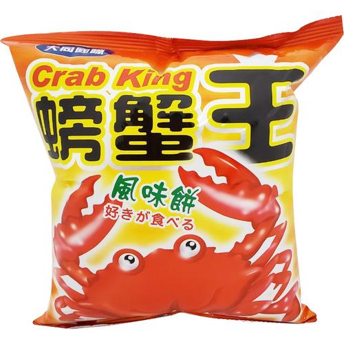 螃蟹王風味餅(60g/包)