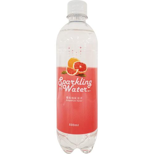 D618 氣泡水(葡萄柚 500ml/瓶)