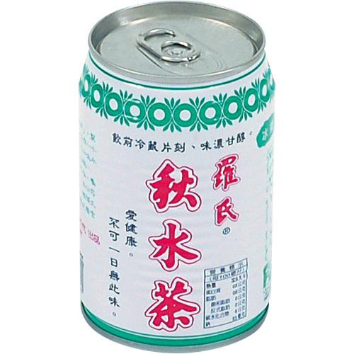 《羅氏秋水茶》易開罐(280ml/瓶)-UUPON點數5倍送(即日起~2019-08-29)