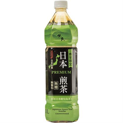 悅氏 日本煎茶(1000ml/瓶 (無糖))