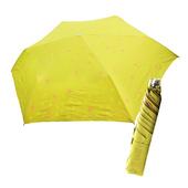《好雅也欣》舒亦媚-抗UV防曬三折晴雨傘(甜心-綠底桔心)