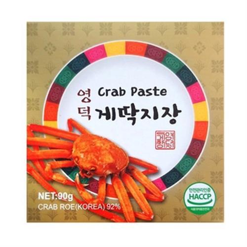《盈德》蟹醬(原味 90g/罐)