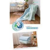 《【日本三河】》日本製涼感抗菌夏被-水玉(2色可選)(水玉藍)