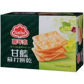 《喜年來》甘藍蘇打餅乾分享包(150g)