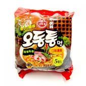 《韓國不倒翁》海鮮風味烏龍麵(120gx5包/袋)