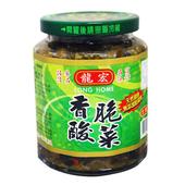《龍宏》香脆酸菜(420g/瓶)(1瓶)