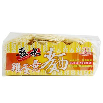 皇品 關廟麵(郭)- 鹽水雞蛋意麵(900g/袋)(1袋)