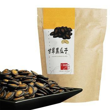 十翼饌 甘草黑瓜子 (130g/包)(1包)
