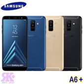 Galaxy A6+ (4G/32G) 6吋雙鏡頭智慧機-贈空壓殼+9H鋼保+韓版包+指環支架+奈米噴劑