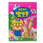 《啵樂樂》甜筒威化-草莓風味(53.4g/盒)
