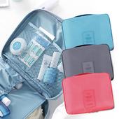 新一代旅遊收納盥洗包-顏色隨機出貨(21x16x7 cm)