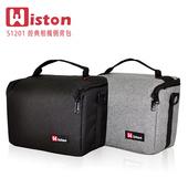 《Wiston 威士頓》S1201 經典相機側背包(黑)贈送GT-01桌上型腳架