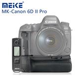 《Meike 美科》Canon 6D II Pro 垂直手把(附遙控器)BG-E21贈GT-02桌上腳架
