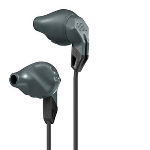 《JBL》人體工學運動防汗耳機Grip100(灰)