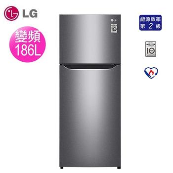 《LG樂金》186公升變頻冰箱-精緻銀GN-I235DS(含拆箱定位)