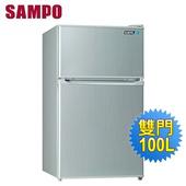 《SAMPO 聲寶》100公升雙門冰箱SR-A10G