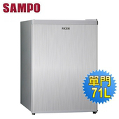 《SAMPO 聲寶》71公升單門冰箱SR-A07