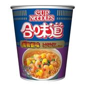 《日清》合味道酸辣蝦味杯麵(74g/杯)
