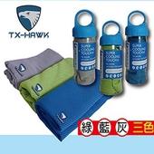 《美國TX-HAWK》運動機能巾-顏色隨機出貨(30X100cm)