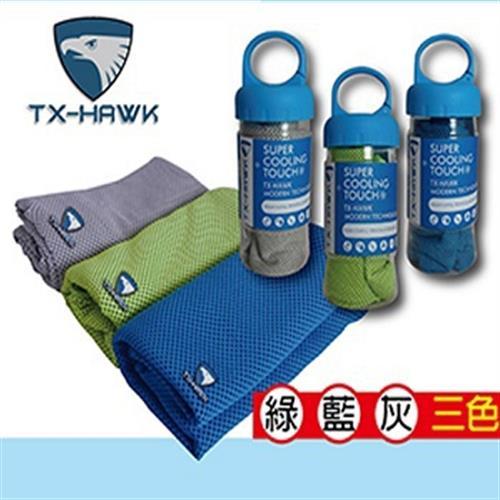 美國TX-HAWK 運動機能巾-顏色隨機出貨(30X100cm)