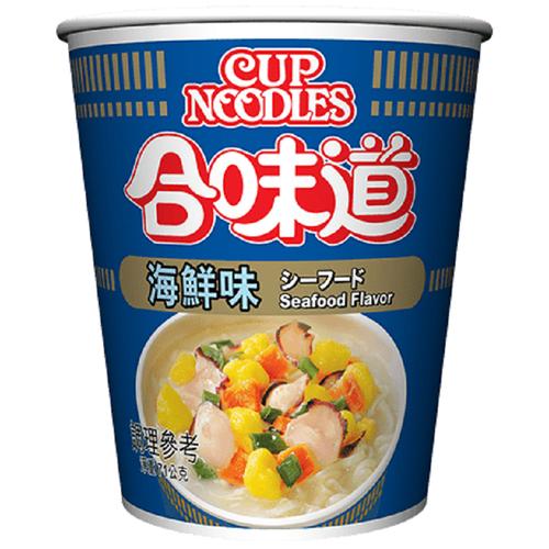 《日清》合味道海鮮味杯麵(71g/杯)