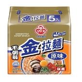 《韓國不倒翁》金拉麵原味(120g×5入)