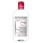 《Bioderma》潔膚液-500ml/瓶(舒敏高效-無香)