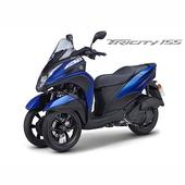 《YAMAHA山葉》Trycity 155 ABS 騎動三輪時代- 2018年新車(藍(消光))
