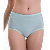 《SOFT LIGHT 舒芙蕾》莫代爾蠶絲貼合內褲-M(淺藍)