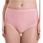 《SOFT LIGHT 舒芙蕾》莫代爾蠶絲貼合內褲-XL(橘粉)