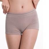 《SOFT LIGHT 舒芙蕾》膠原蛋白低腰平口褲-M(深灰)