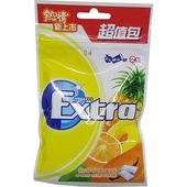 《Extra》木糖醇口香糖超值包-熱帶水果(62g)