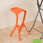 《DFhouse》機器人吧椅(橘色)