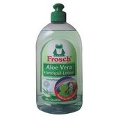 《Frosch德國小綠蛙》中性蘆薈護手洗碗精(500ml/瓶)