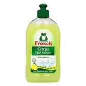 《Frosch德國小綠蛙》檸檬清香洗碗精(500ml/瓶)