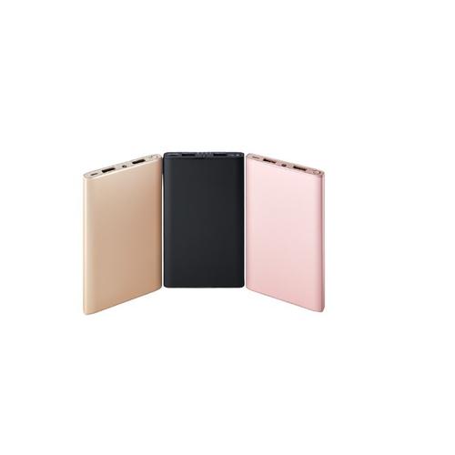 《MINIQ》8000mAh 雙USB輸出 鋁合金行動電源 MD-BP-041(黑)