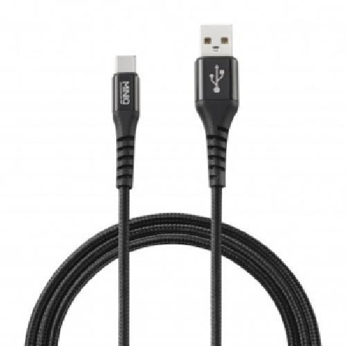 《MINIQ》TYPE-C充電傳輸線1.2M-IC1200T(黑)
