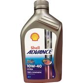 《SHELL》4T 10W40 全合成機油 1L(SN/JASO MA2)