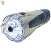 《月陽》超白光6LED紅光3LED警示聲控緊急照明 手電筒 工作燈(HZ819)