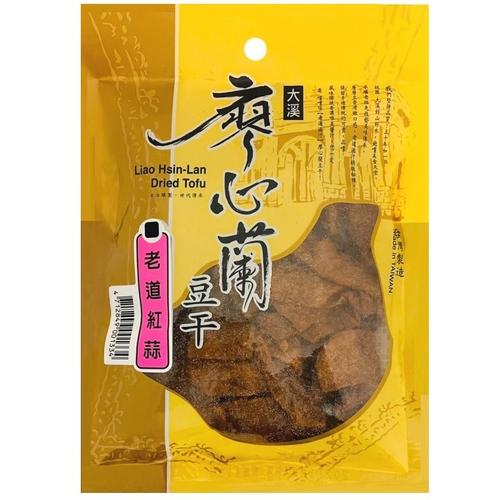 《廖心蘭》豆干(老道紅蒜 110g/包)