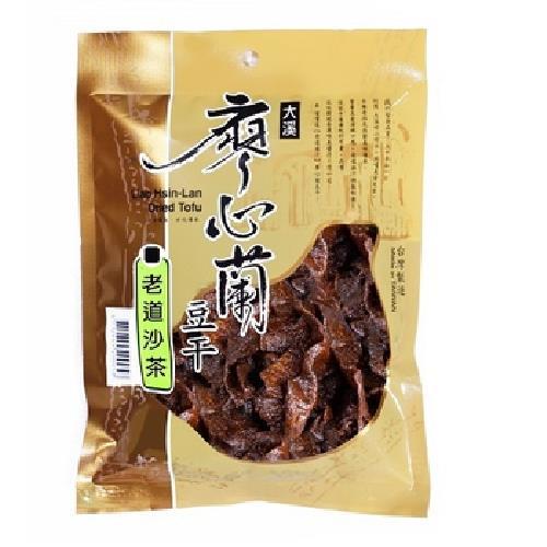 《廖心蘭》豆干-110g/包(老道沙茶-即期2020.09.25)