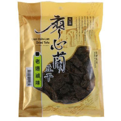 《廖心蘭》豆干-110g/包(老道滷味-即期2020.09.09)