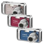 《Canon》Powershot A460 數位相機(藍)
