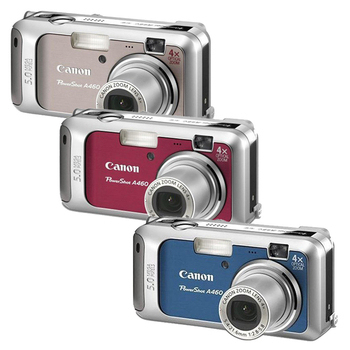 Canon Powershot A460 數位相機(藍)