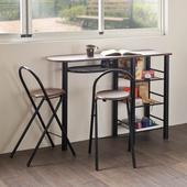 《伊里斯》伊里斯工業風吧檯桌椅組(一桌兩椅)(吧檯桌椅組(一桌兩椅))