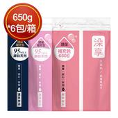 《澡享》沐浴乳補充包 650g*6包/原箱(玫瑰風信子)