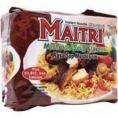 《印尼MAITRI 麥德力》香菇清湯素麵80g*5包/袋 $59