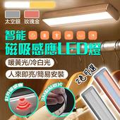 《新一代》智慧磁吸LED居家生活感應燈/衣櫥燈銀色黃光 $199